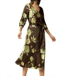 Silk Banana Republic Dress Gorgeous size small